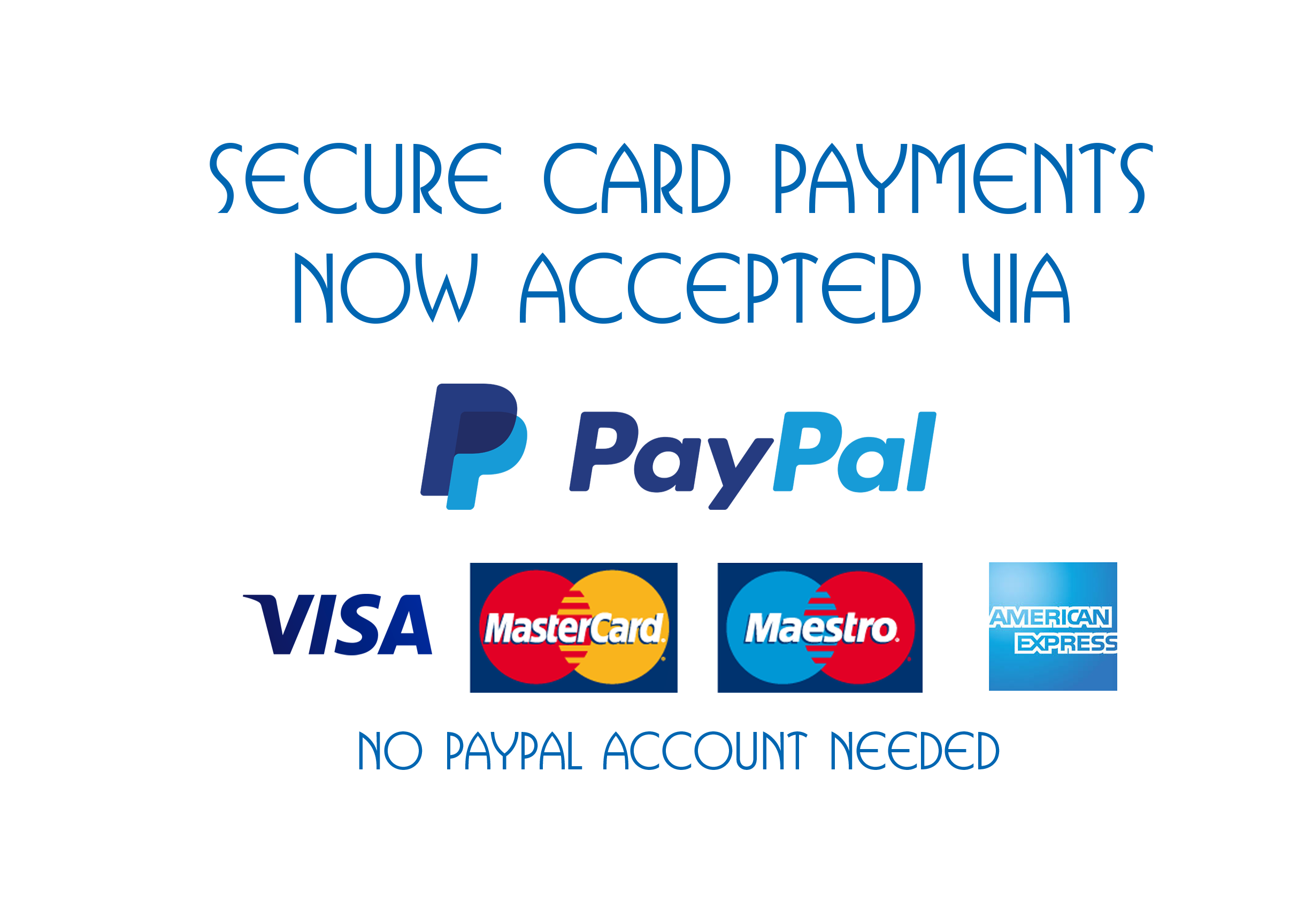 Card payment via PayPal